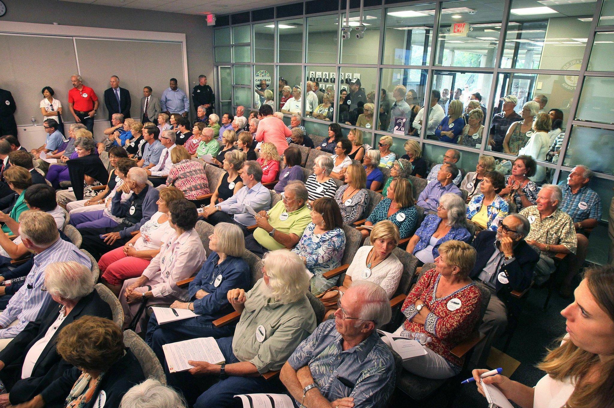 Carlsbad Council Considers Development The San Diego