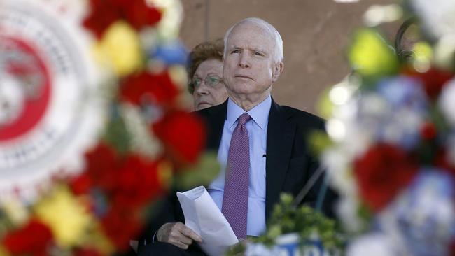 Rhetorical analysis on John McCain?