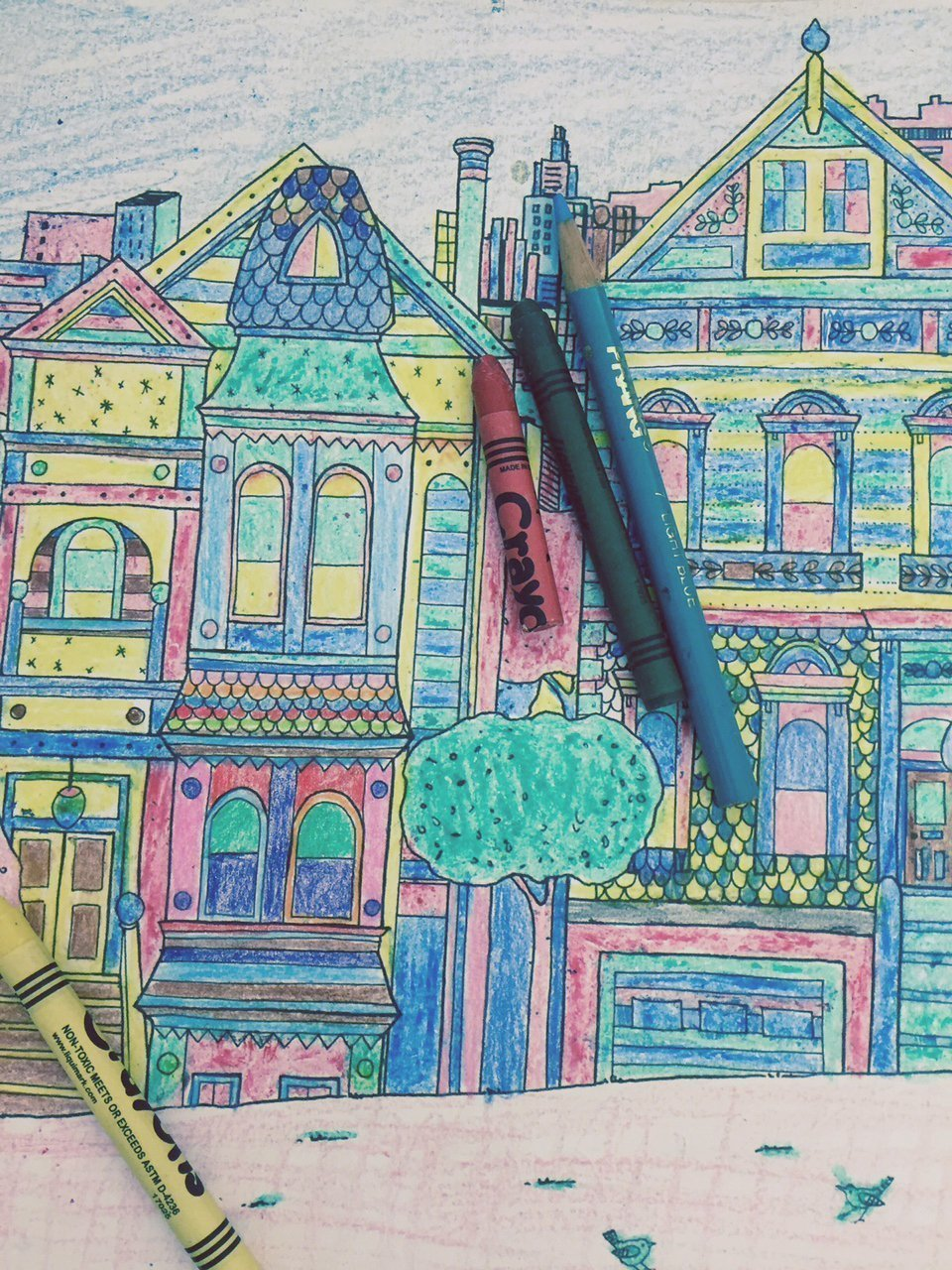 Trendy But Calm Adult Coloring Books Selling Like Crazy