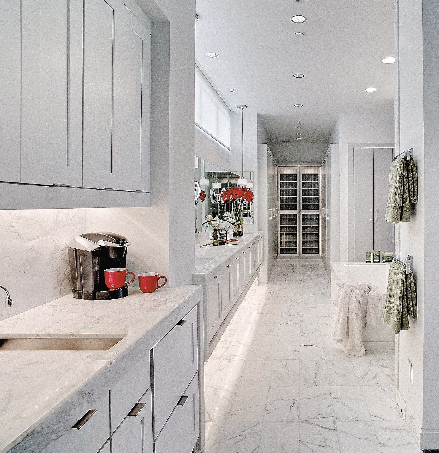 Master Bedroom Kitchenette morning kitchen brings basics into the bedroom, be it a