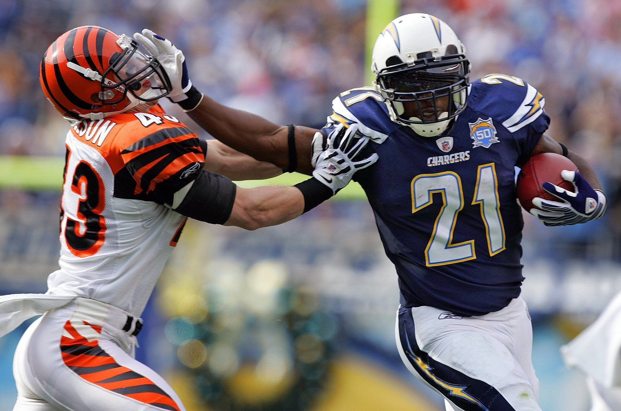 Chargers Who Wore No 21 Before Ladainian Tomlinson