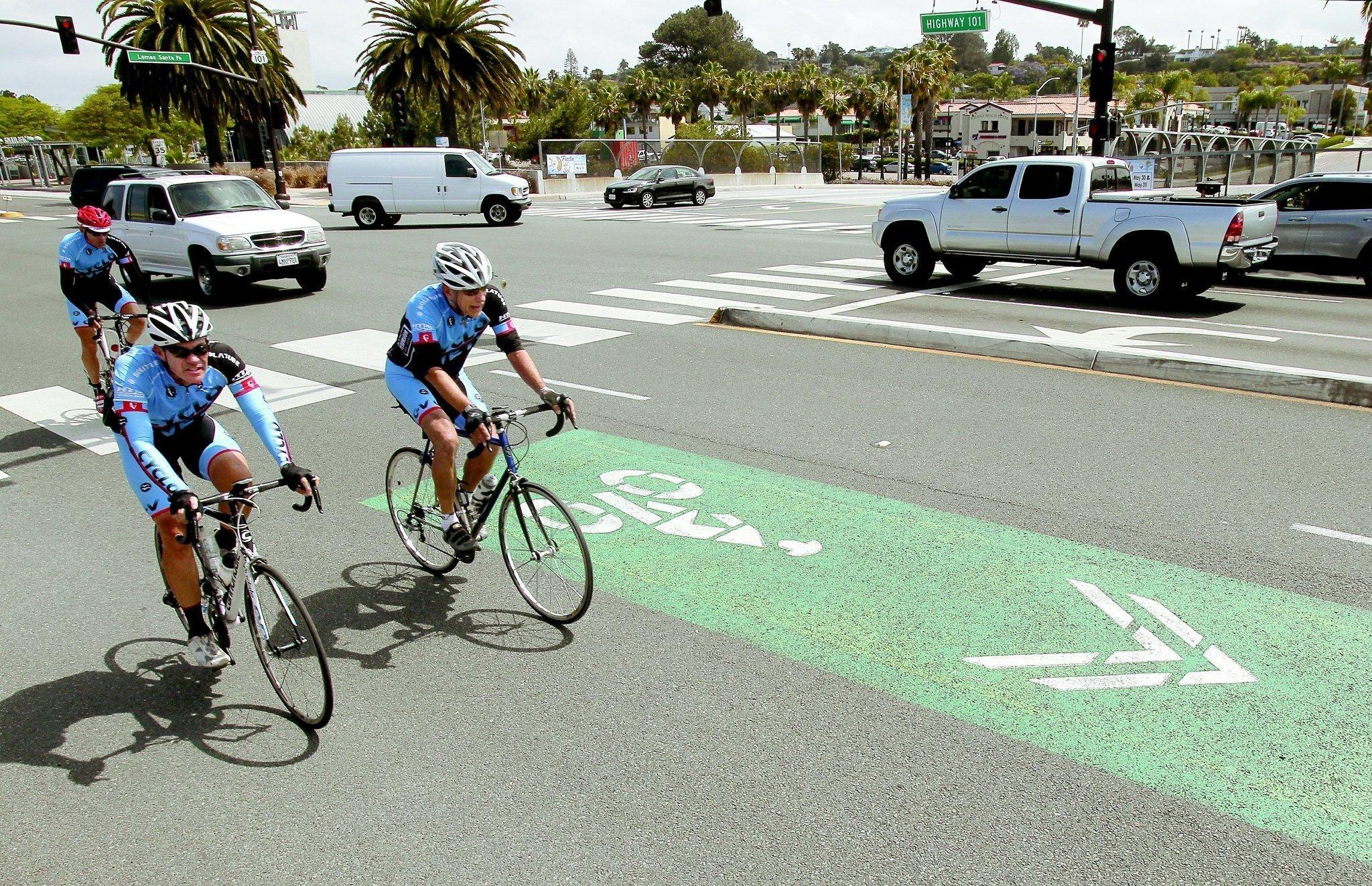 Más carriles para compartir - The San Diego Union-Tribune
