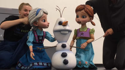'Frozen' musical on Disney Wonder will embrace puppets, lasers
