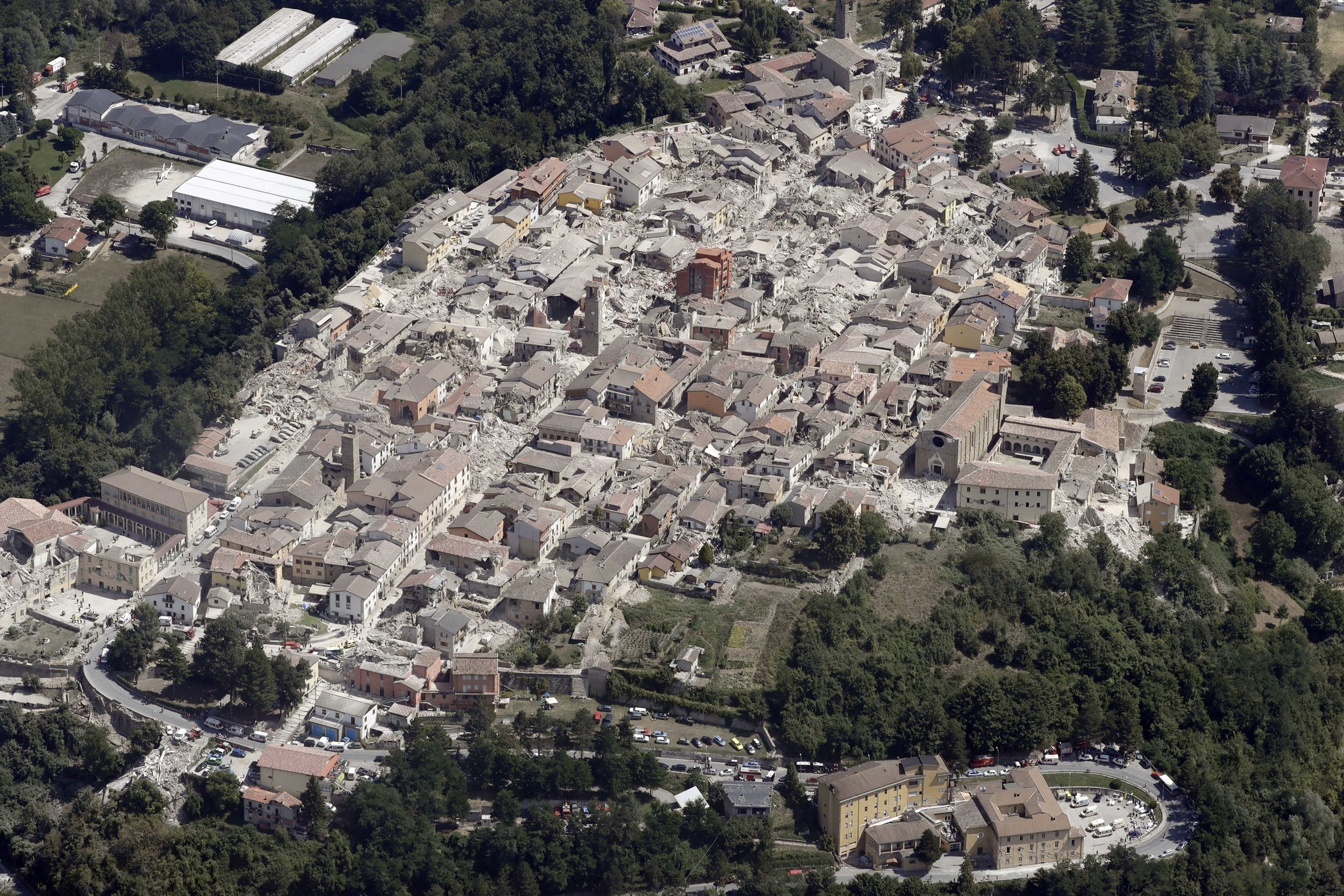 Amatrice Photo italian town known for its pasta dish 'is no more' after earthquake
