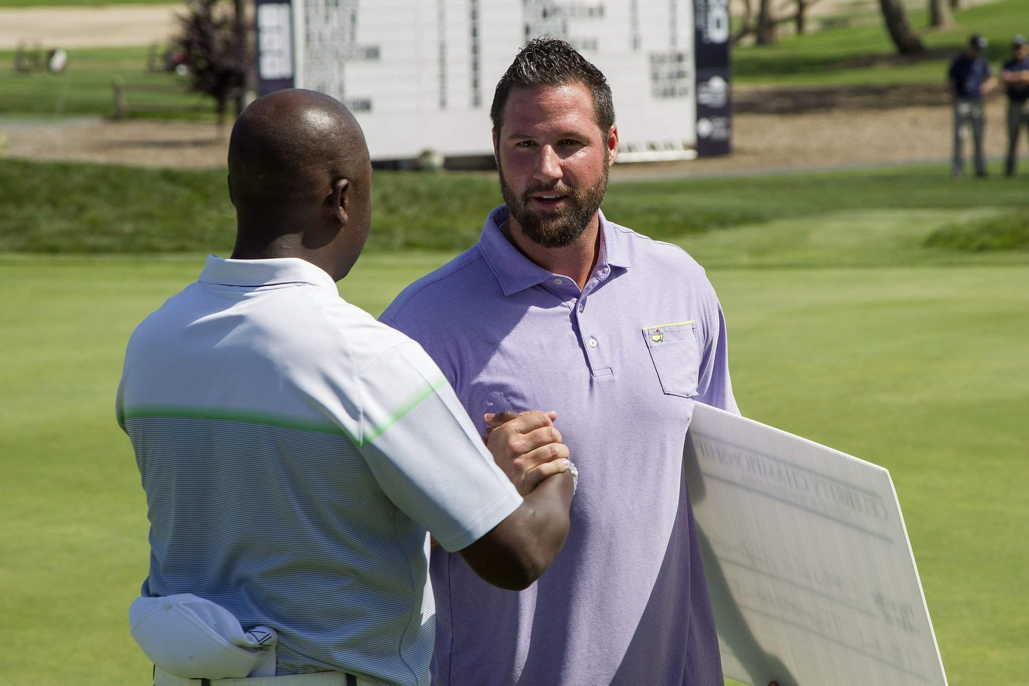 Gagne closes win in celebrity golf - The San Diego Union ...