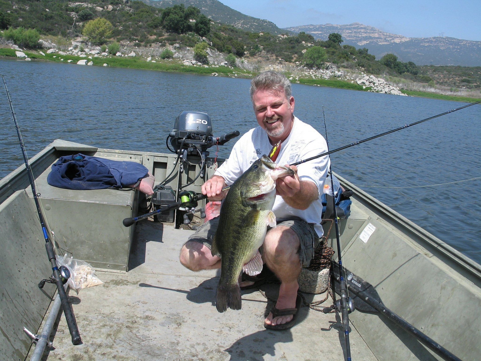 Lake fishing options many in san diego the san diego for Freshwater fishing san diego