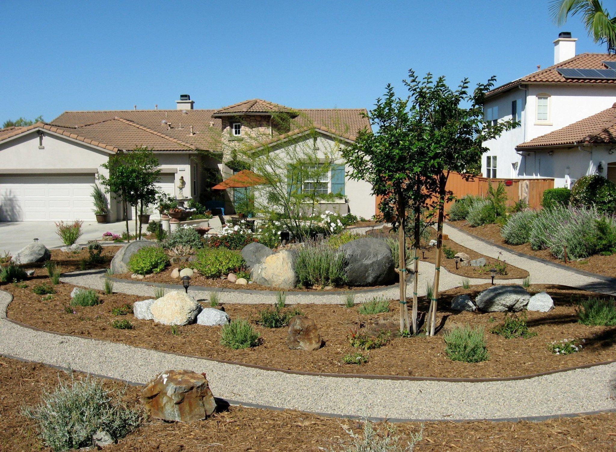 vista irrigation district u0027s california friendly landscape contest