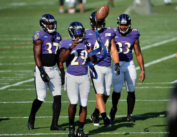 Ravens' running back picture could gain clarity starting Saturday