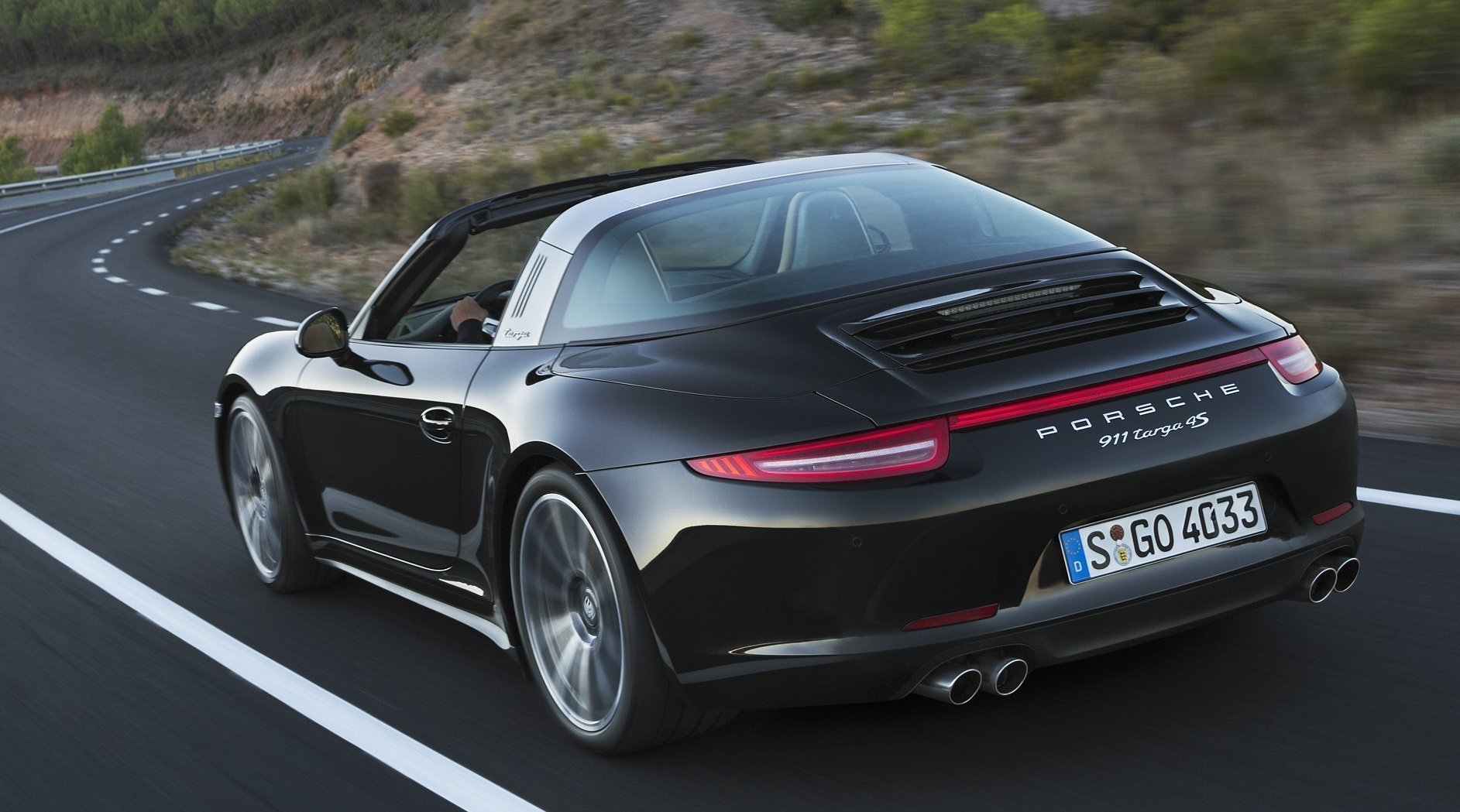 2015 porsche 911 targa returns with wide body and awd - the san