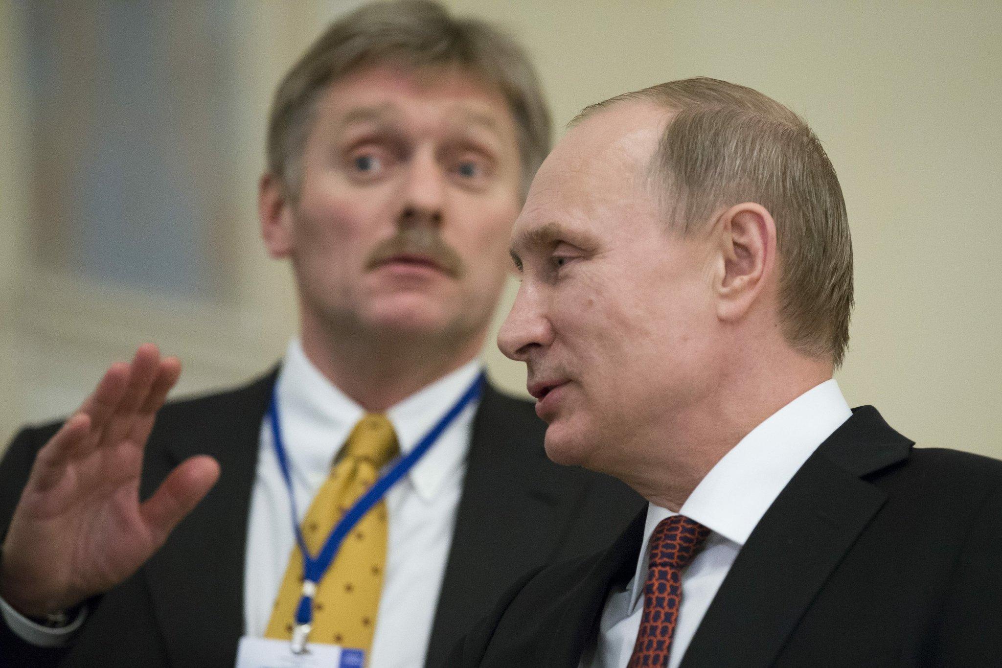 Dmitry Peskov: Putin is healthy, but very busy working 03/12/2015