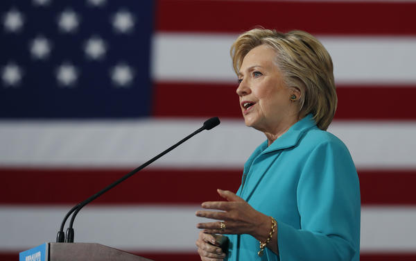 Hillary Clinton takes aim at Donald Trump's ties to 'alt right' world of radical conservatives