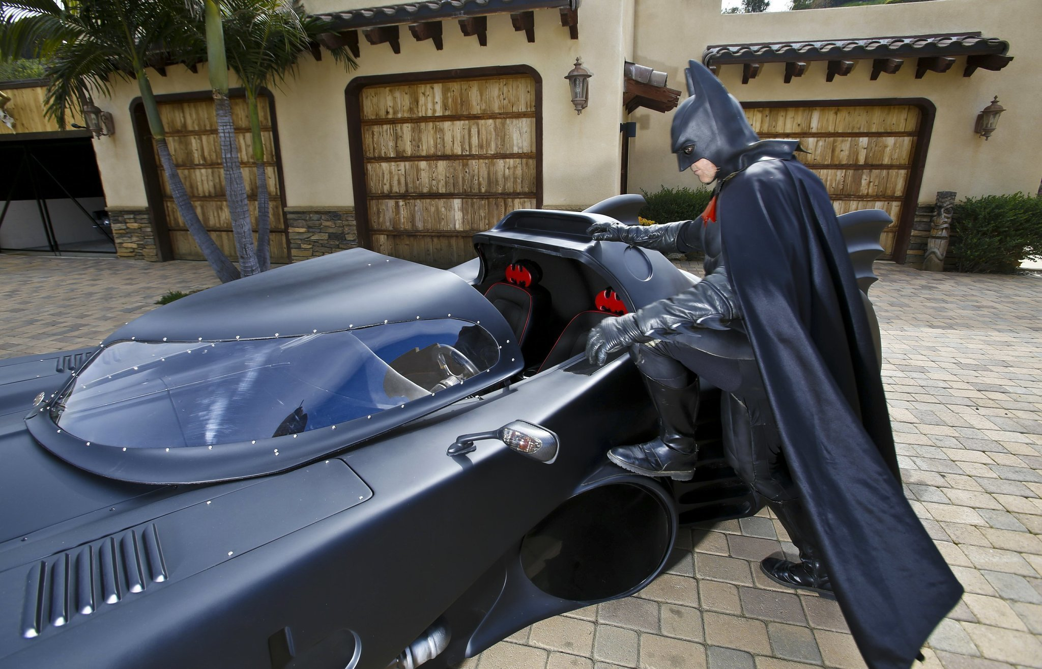Batman rides again in Valley Center - The San go Union-Tribune on how to build gundam, how to build beyblades, how to build ghostbusters,