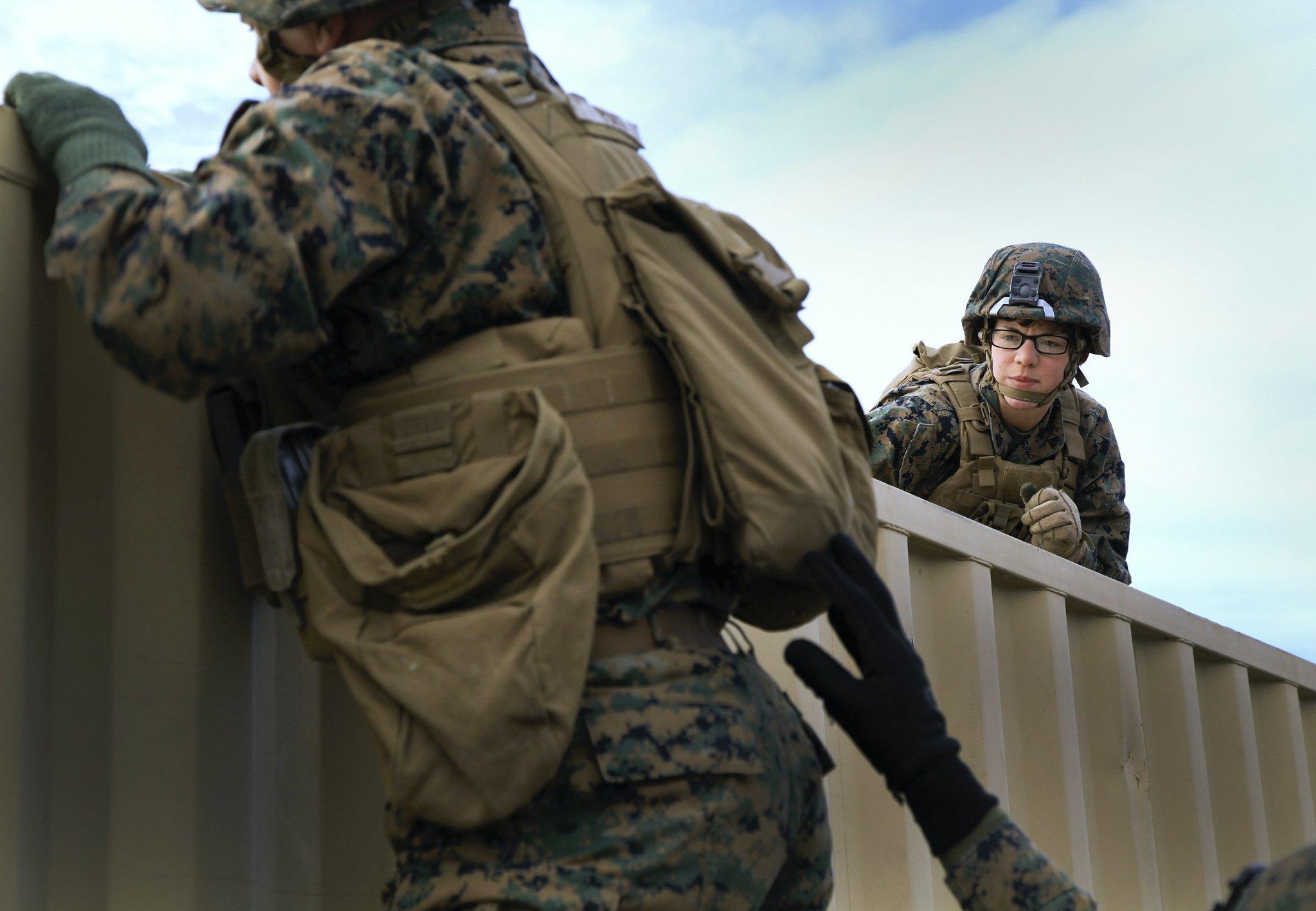 Women In Combat Breaking The Kevlar Ceiling