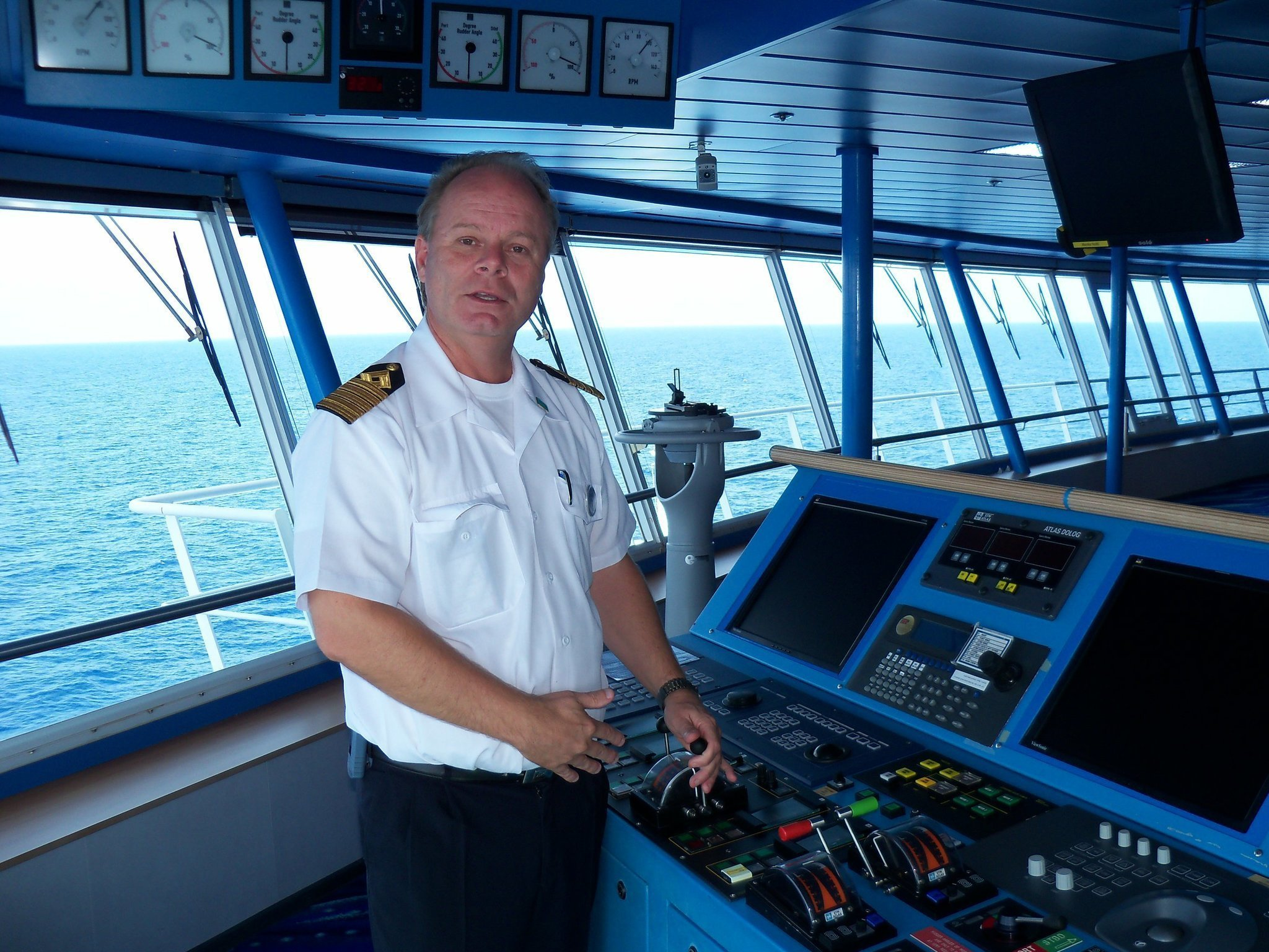 Cruise Ship Captain Found Calling Thanks To Grandpas Tales The - Cruise ship captains