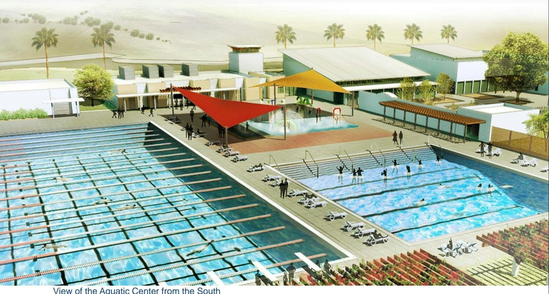 Oceanside Gives Residents First Look At Aquatic Center At El Corazon The San Diego Union Tribune