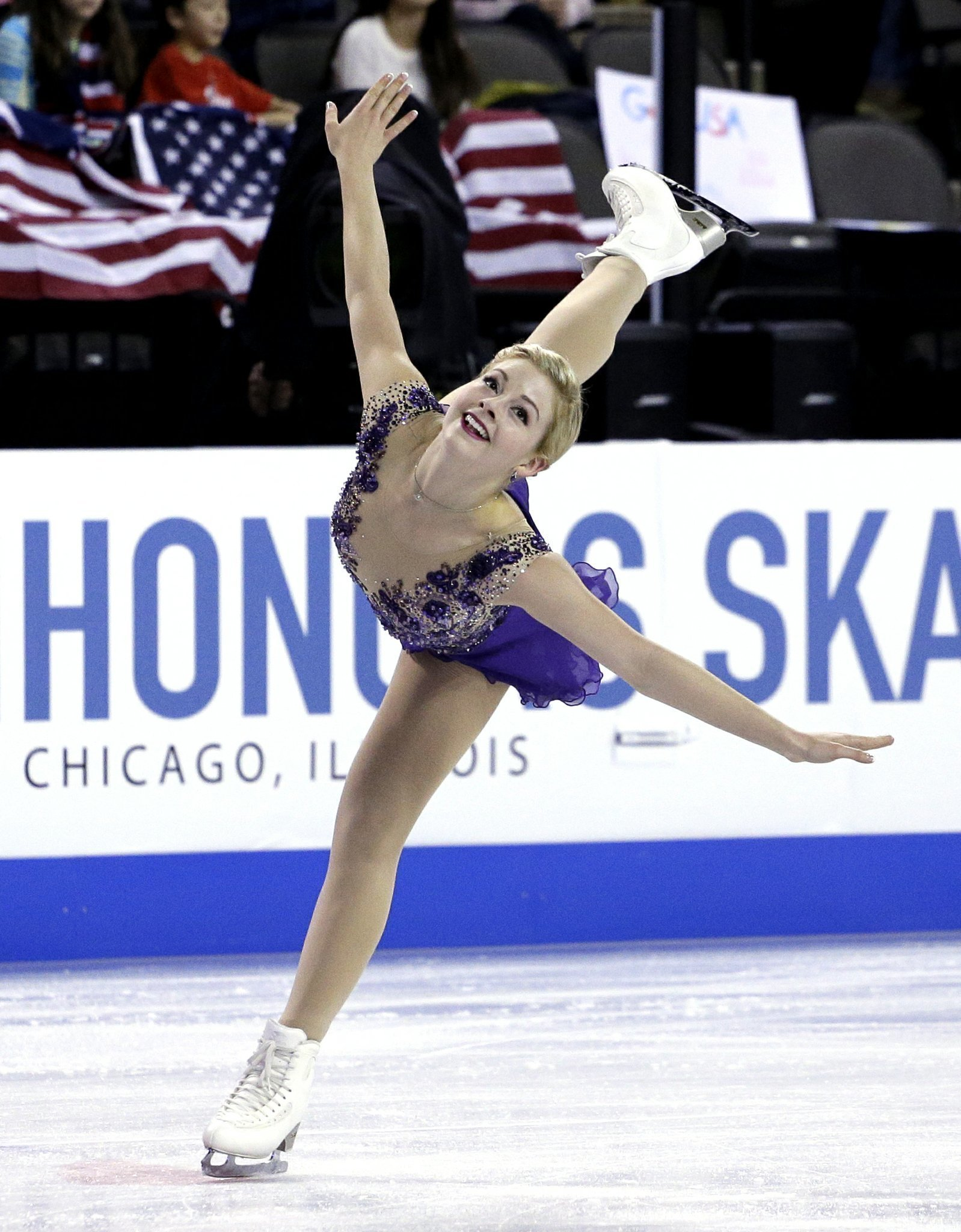 Sasha Cohen reigning US Figure Skating Champion Olympic silver