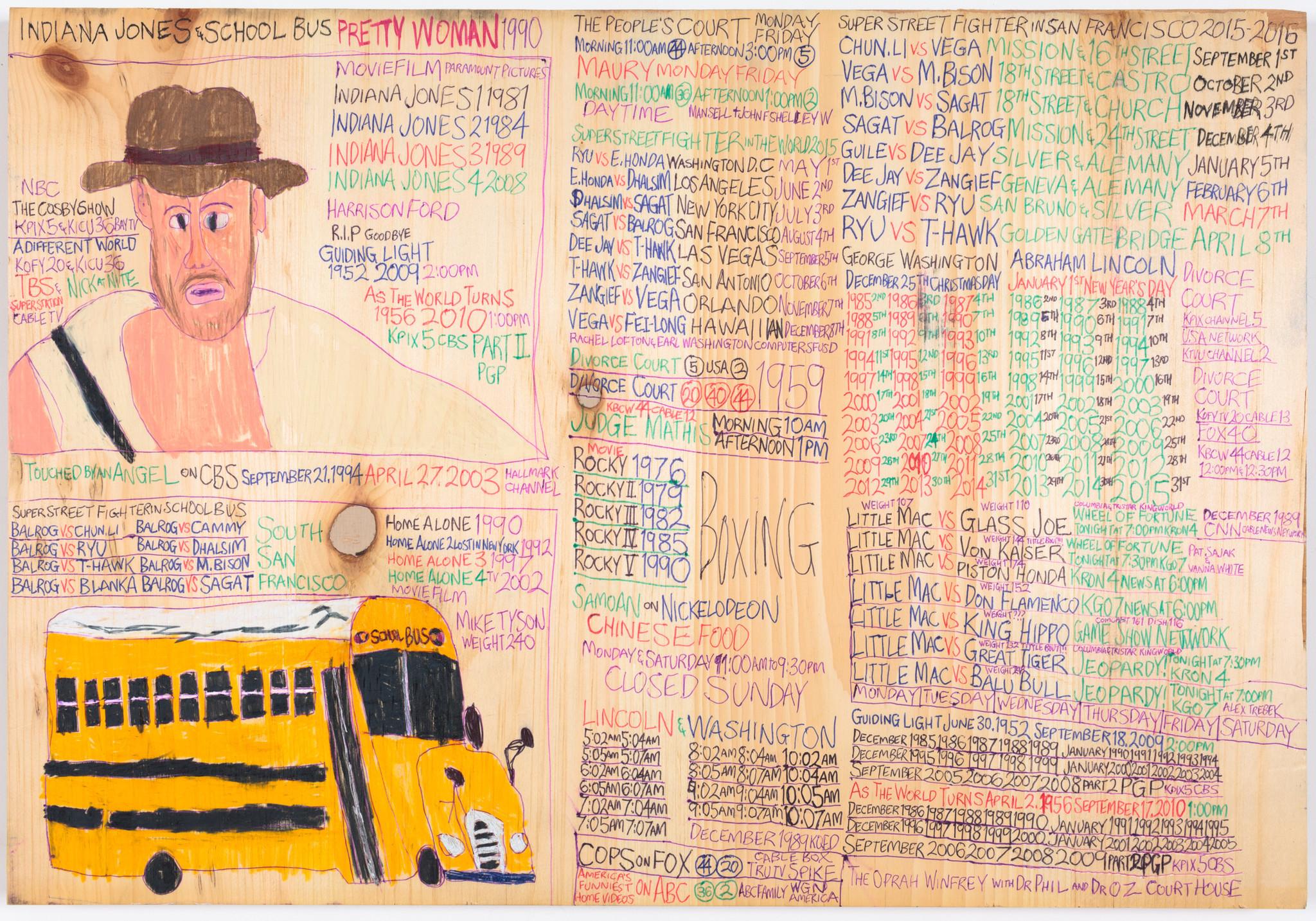 """Daniel Green's """"Indiana Jones School Bus."""""""
