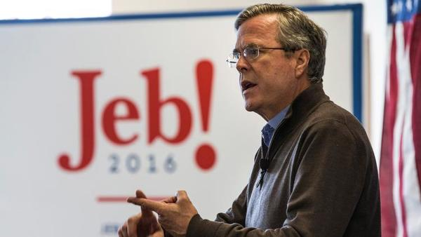 Jeb Bush offers disdain as Donald Trump begins 'morphing' on immigration