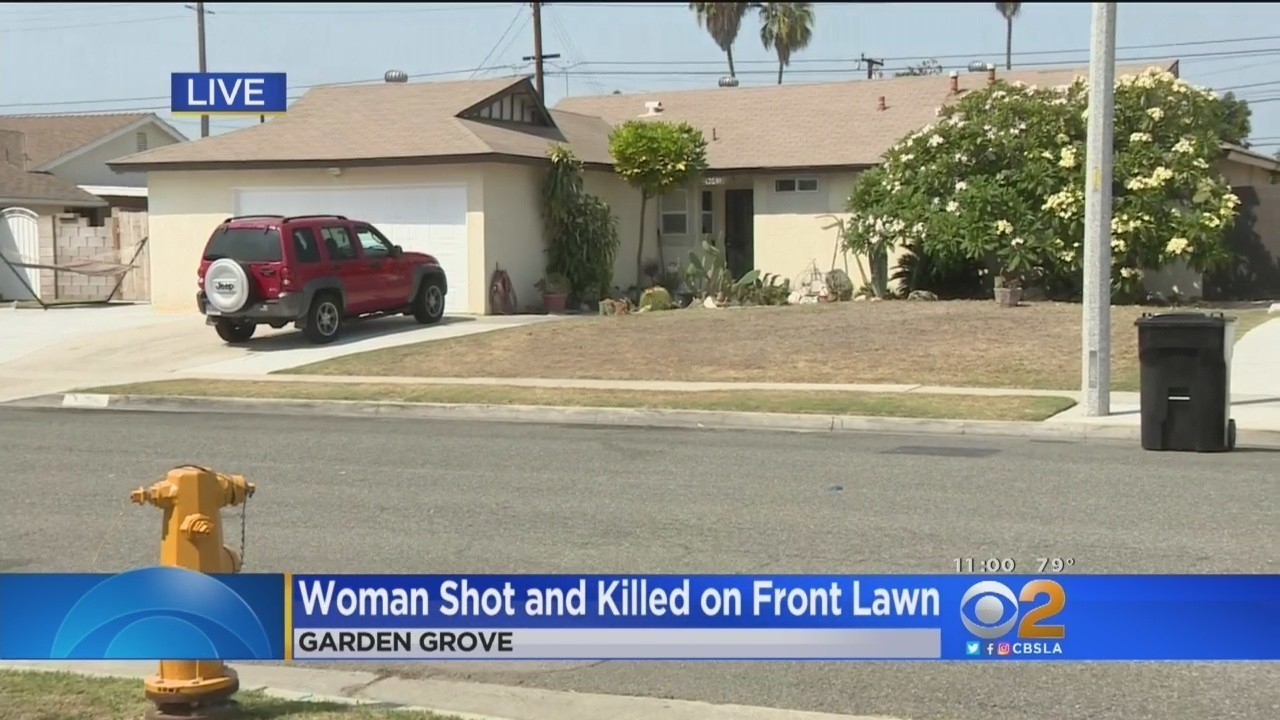 Police Seek A Man Who Fatally Shot A Woman In Garden Grove