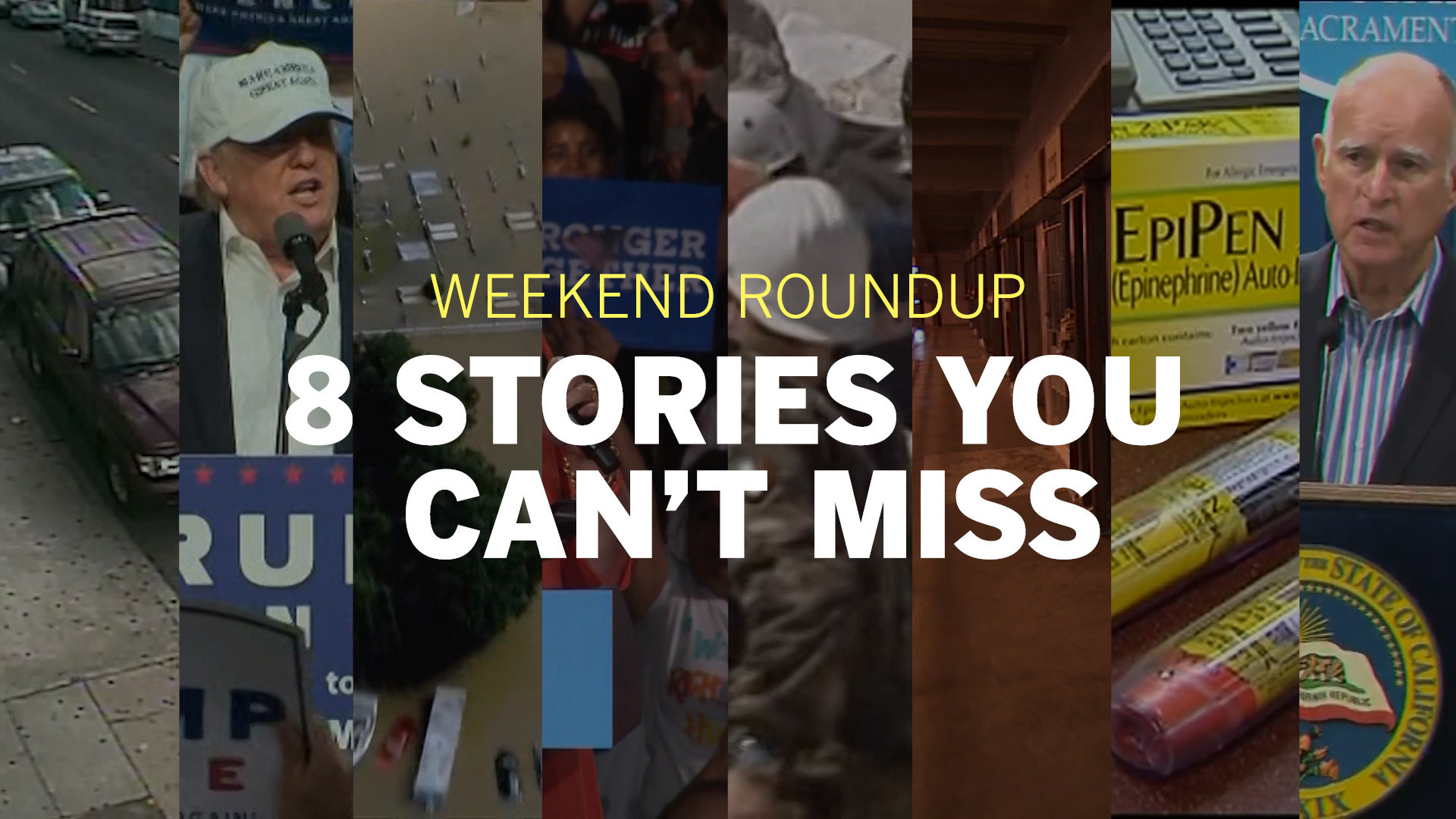 Weekend Roundup: 8 stories you can't miss