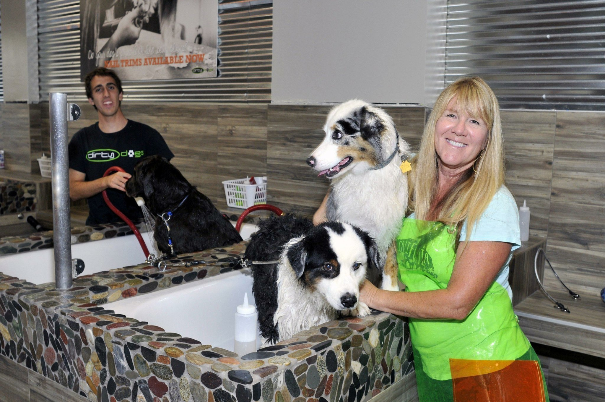 Dirty dogs grand opening held in solana beach del mar times solutioingenieria Choice Image