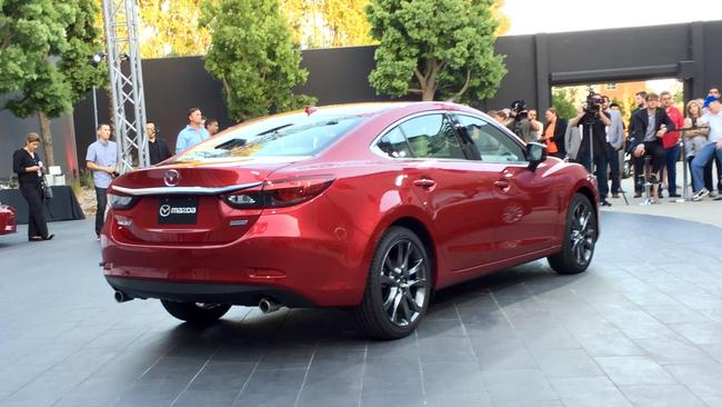 """Mazda's preview party to show off the major """"refresh"""" of the 2017"""