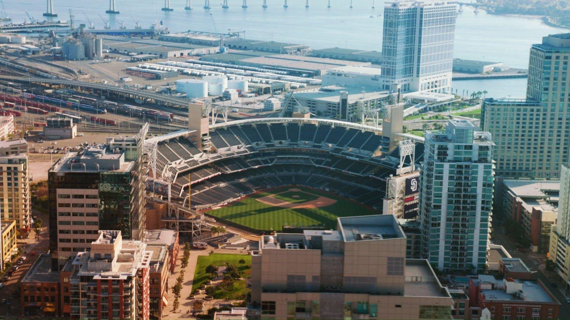 Qualcomm Padres Work On Sustainability At Petco Park