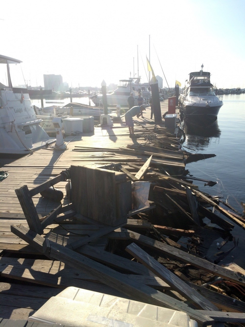 Spirit Of Baltimore Strikes Damages Fells Point Pier Baltimore Sun - Cruise ships from baltimore md