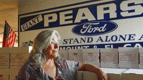 pearson ford fondly recalled as icon closes - the san diego union