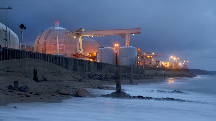 The San Onofre Nuclear Generating Station. (Allen J. Schaben / Los Angeles Times)