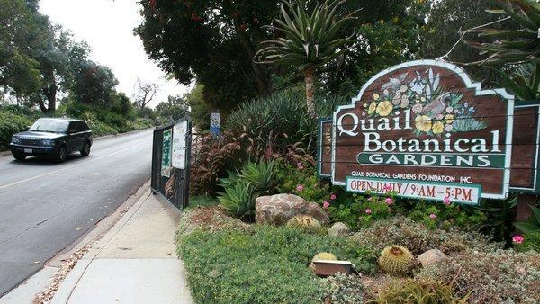 ENCINITAS: Quail Botanical Gardens To Change Its Name