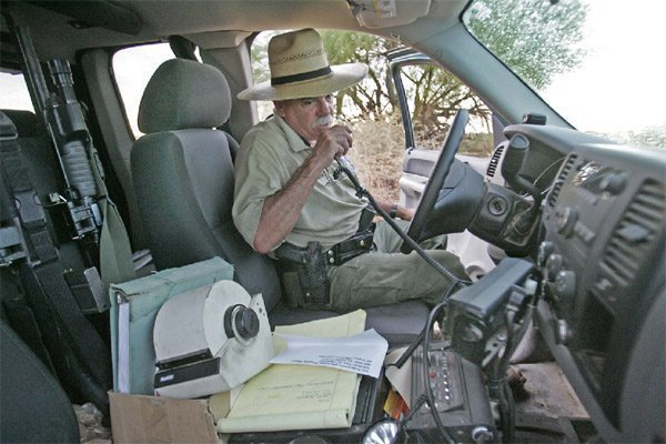 State fish game warden is nearing end of the line the for Calif fish and game
