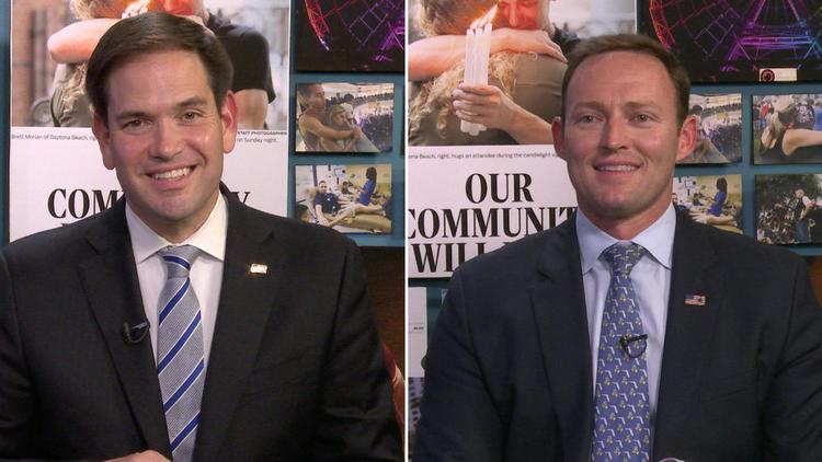 Rubio and Murphy (Orland Sentinel)