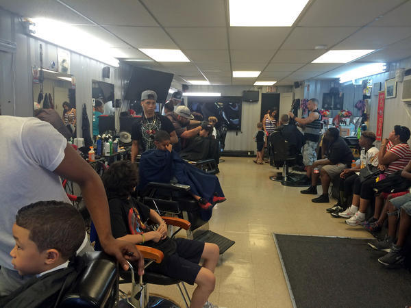 Allentown Barbershop Gives Away Free Haircuts School Supplies To