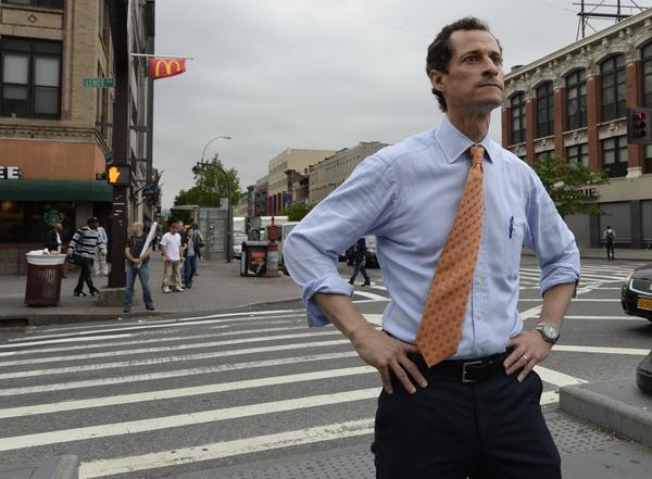 Anthony Weiner. (Timothy Clary / AFP/Getty Images)