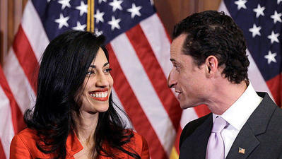 Top Clinton aide Huma Abedin to separate from husband Anthony Weiner after latest sexting scandal