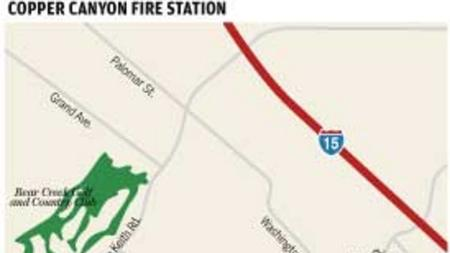 Murrieta Temporary Fire Station Coming To Copper Canyon The San