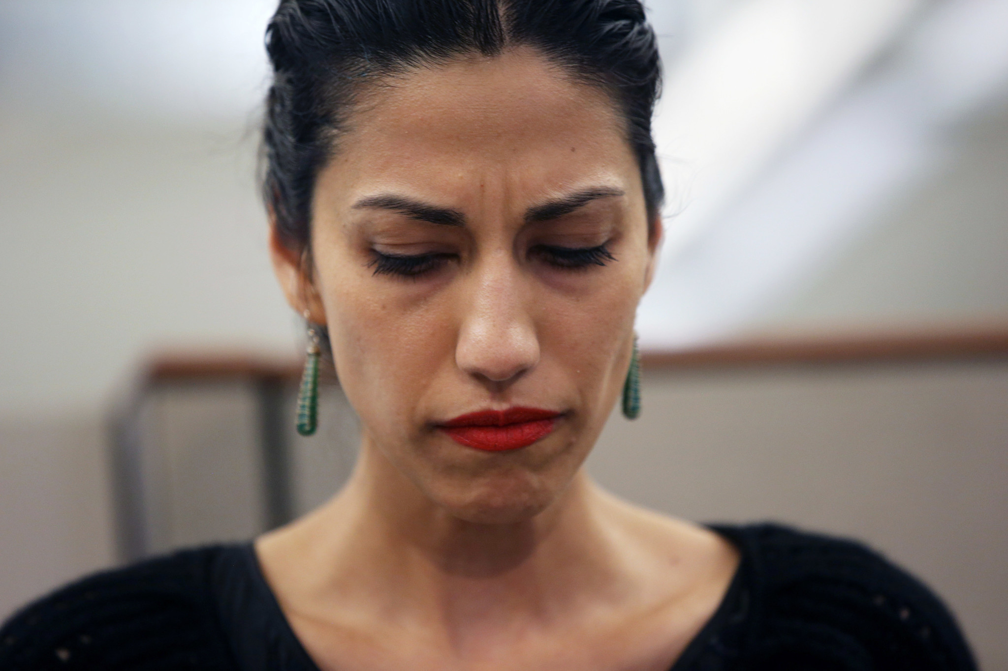 Image result for huma abedin angry