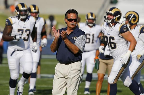Rams make 14 cuts before the deadline for getting to a 75-man roster