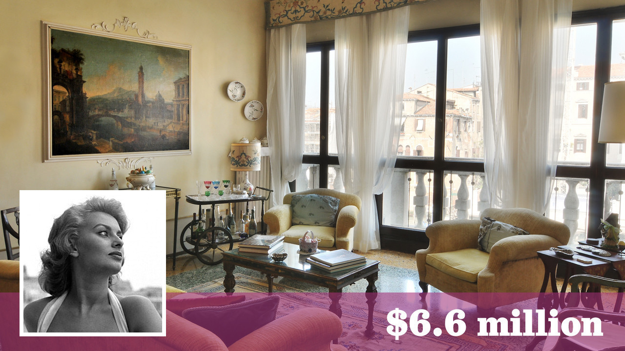Former Venice Italy Vacation Home Of Sophia Loren Seeks