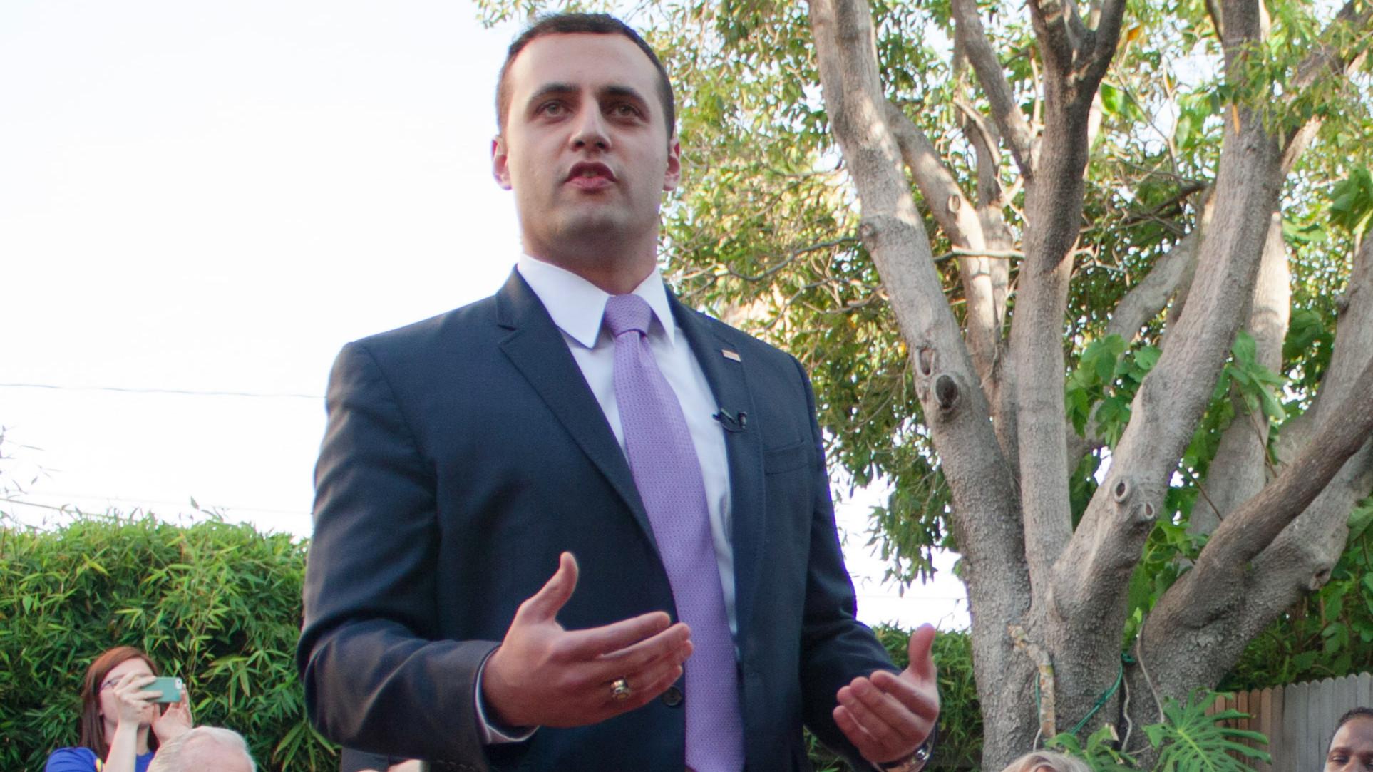 Republican Justin Fareed