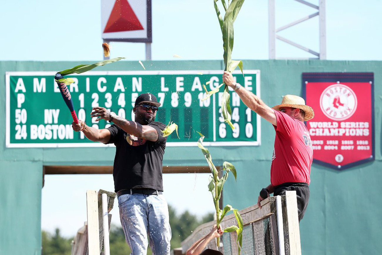 Red Sox slugger David Ortiz immortalized in corn maze - Chicago Tribune