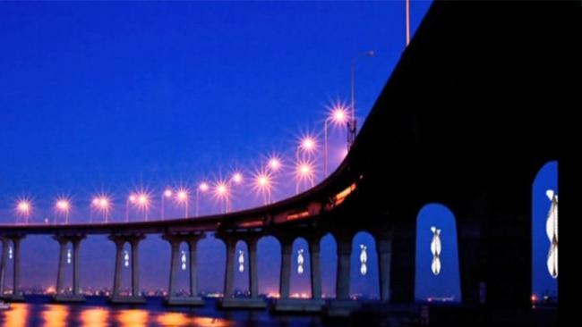Three ideas for lighting iconic bridge - The San Diego Union-Tribune