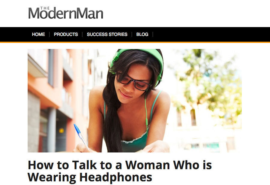 Sexist advice for approaching women wearing headphones chicago tribune ccuart Gallery
