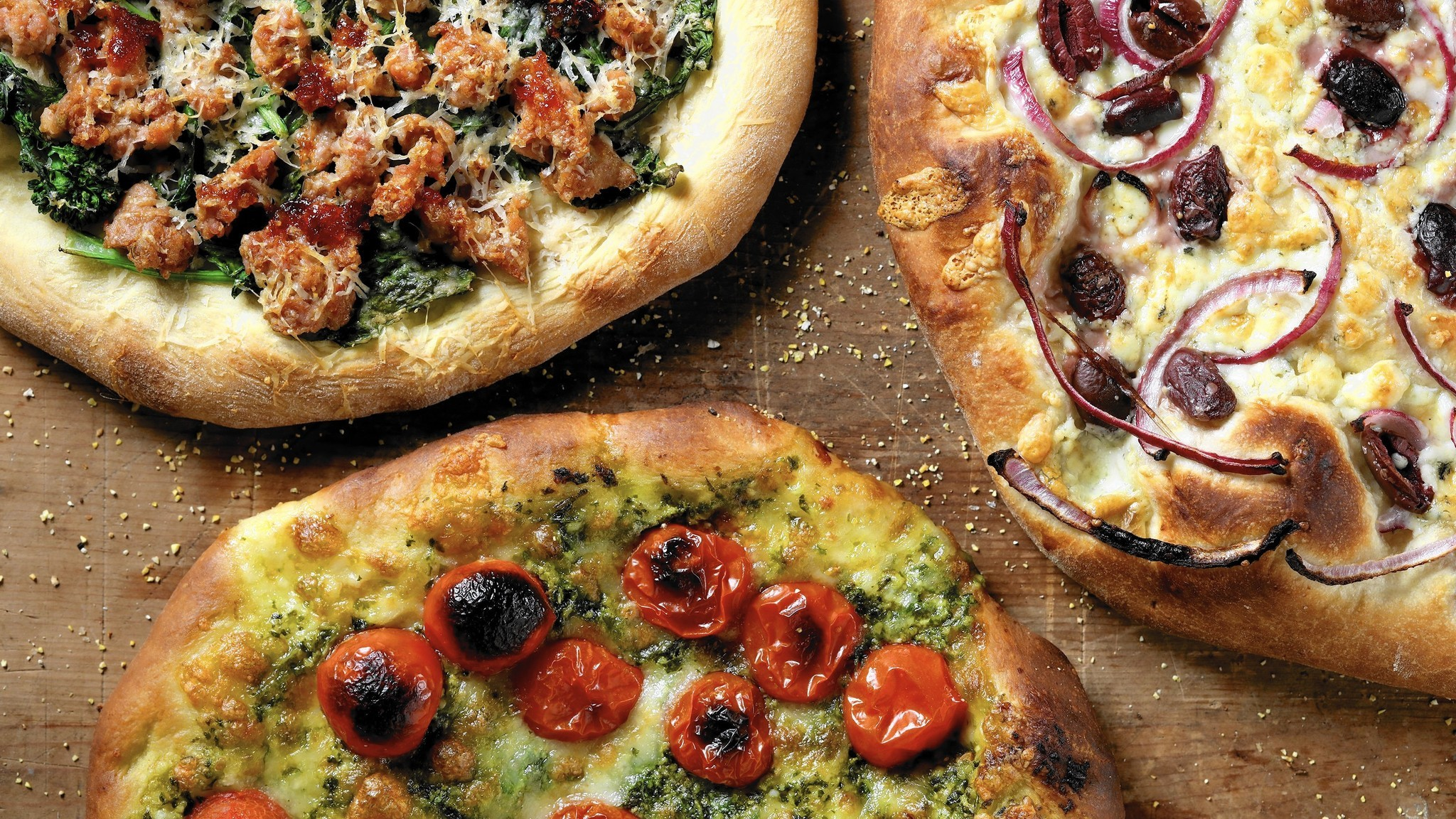 No-fuss toppings make pizza easy as pie