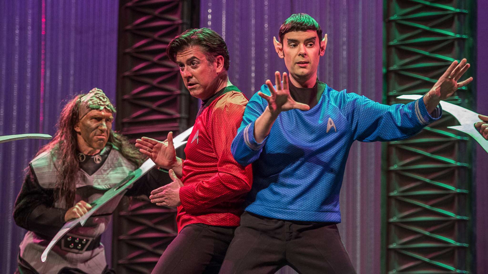 "Mozart's ""Abduction from the Seraglio"" has been set in the Star Trek universe by the Pacific Opera Project. (Pacific Opera Project)"
