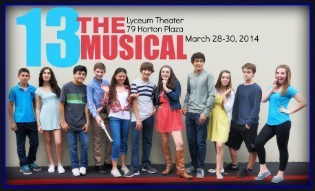 Young Local Actors To Perform In Broadway Musical 13 At