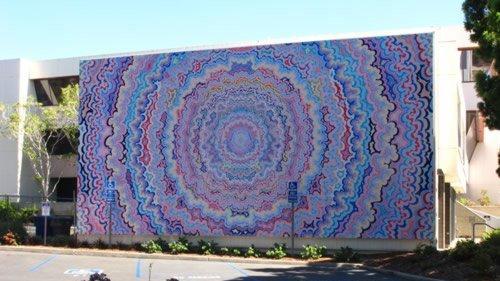 Great U0027One Pointed Attentionu0027 By San Diego Artist Kelsey Brookes Was Installed  Last Week At. U0027