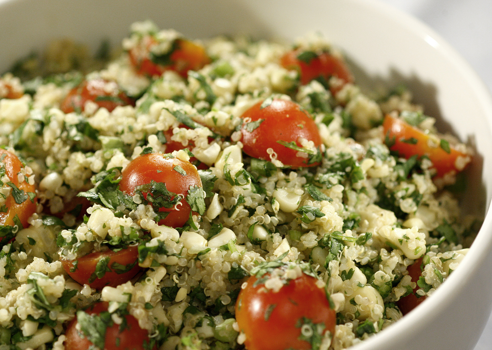Why You Should Toast Your Grains, Plus A Recipe For Toasted Quinoa Salad  With Grilled Corn  La Times