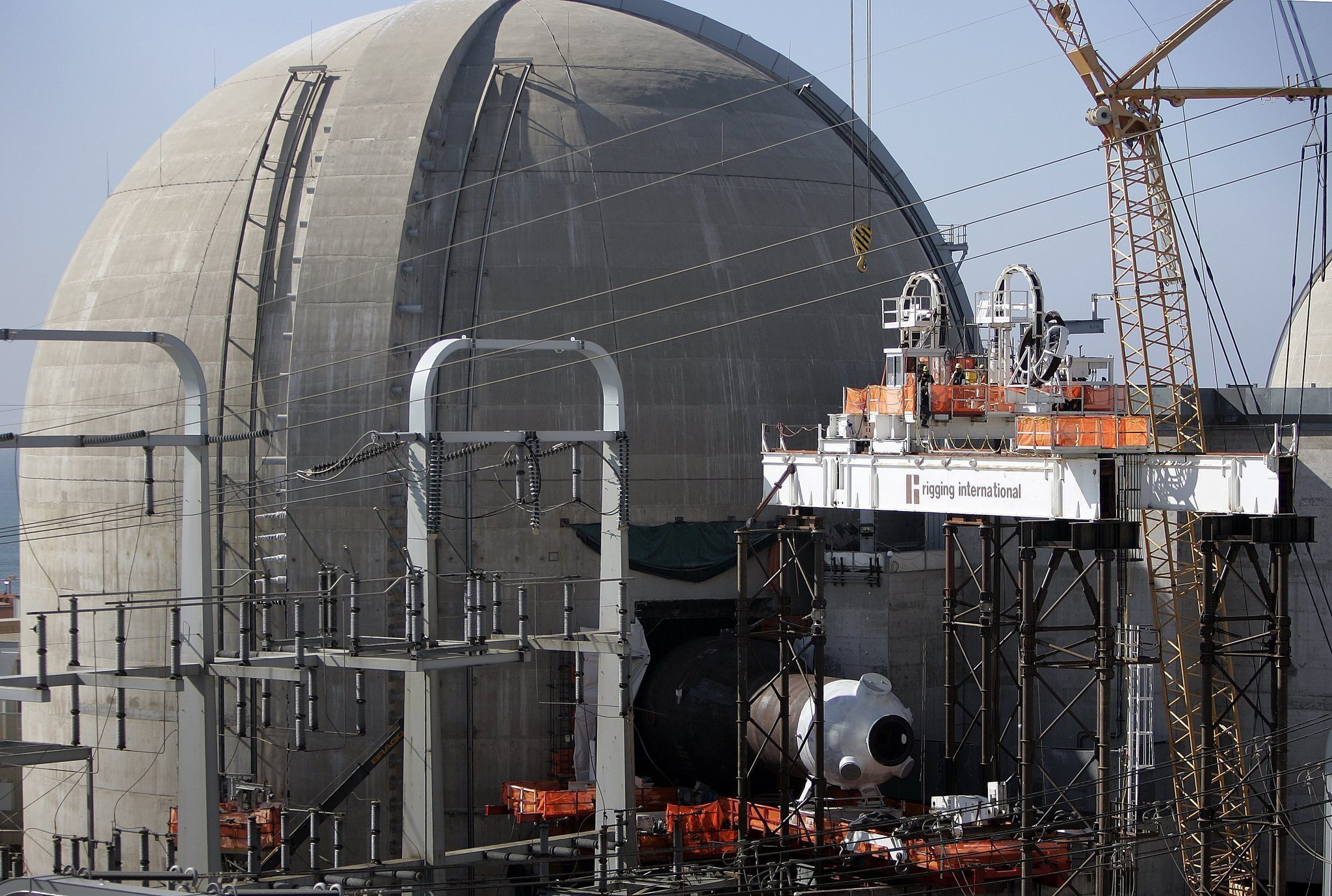 Steam generator replacement ahead of schedule The San Diego